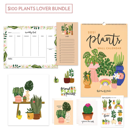$100 Plants Lover Gift Bundle