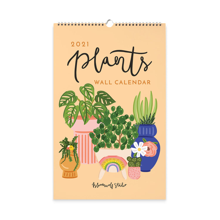 SLIGHTLY IMPERFECT 2021 Plants Wall Calendar