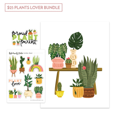 $25 Plants Lover Gift Bundle