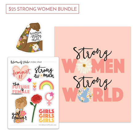 $25 Strong Women Gift Bundle