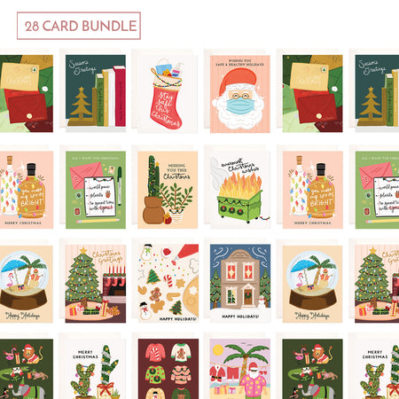 Holiday Card Bundle - 28 Cards