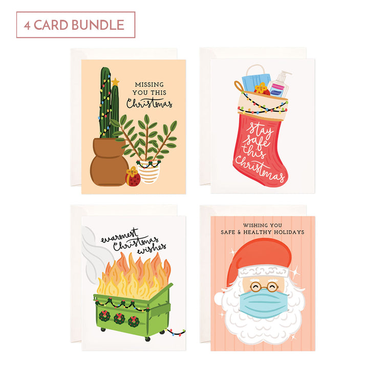 Holiday Card Bundle - 4 Cards