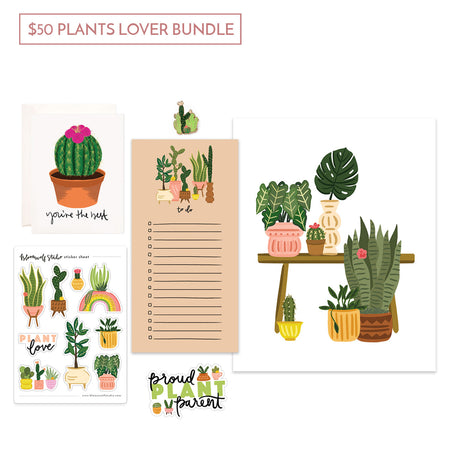 $50 Plants Lover Gift Bundle