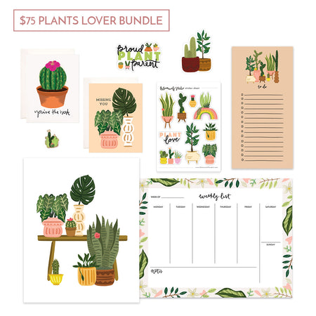 $75 Plants Lover Gift Bundle