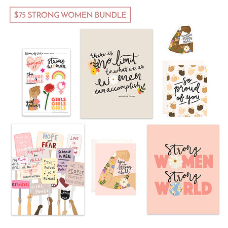 $75 Strong Women Gift Bundle