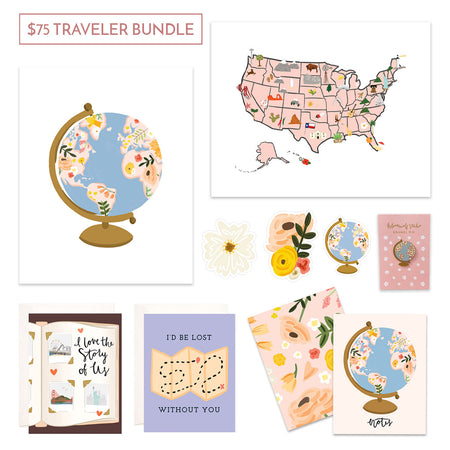 $75 Travelers Gift Bundle