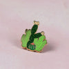 Cacti Field Enamel Pin - Bloomwolf Studio