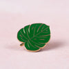 Monstera Leaf Enamel Pin - Bloomwolf Studio