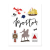 City Art Prints - Boston - Bloomwolf Studio