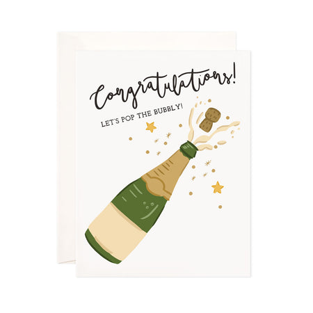 Bubbly Congrats - Bloomwolf Studio