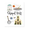 City Art Prints - Chapel Hill - Bloomwolf Studio