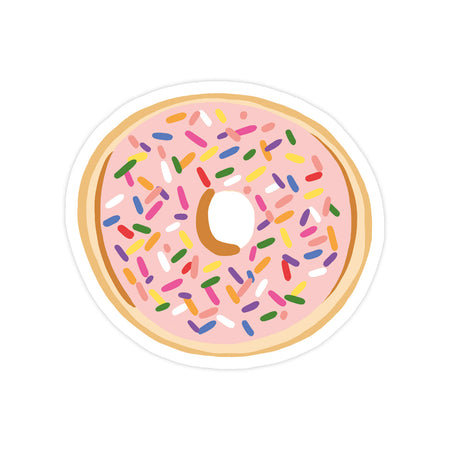 Sprinkle Donut Sticker