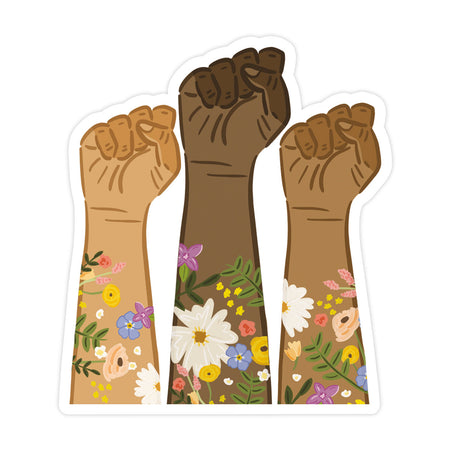 BLM Fists Sticker