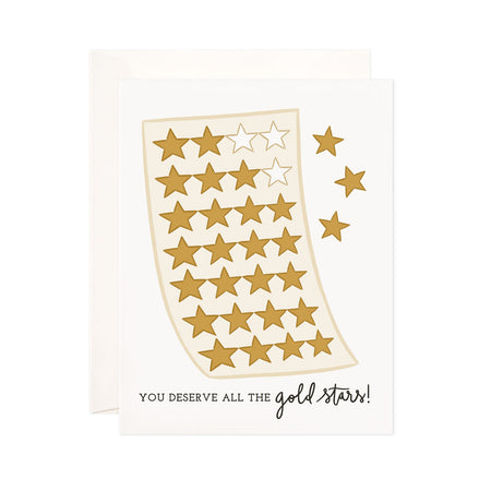 Gold Stars - Bloomwolf Studio