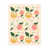 Grapefruit Pattern Art Print - Bloomwolf Studio