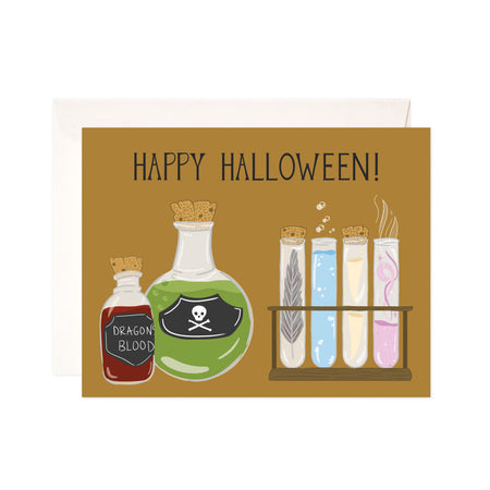 Halloween Potions - Bloomwolf Studio