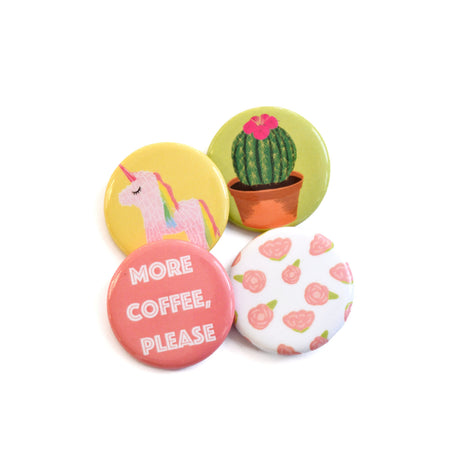Unicorn Button Pack