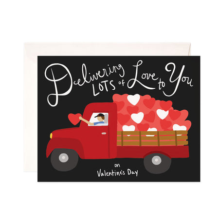 Delivering Love Valentine - Bloomwolf Studio