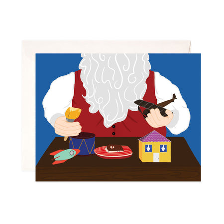 Santa's Workshop - Bloomwolf Studio