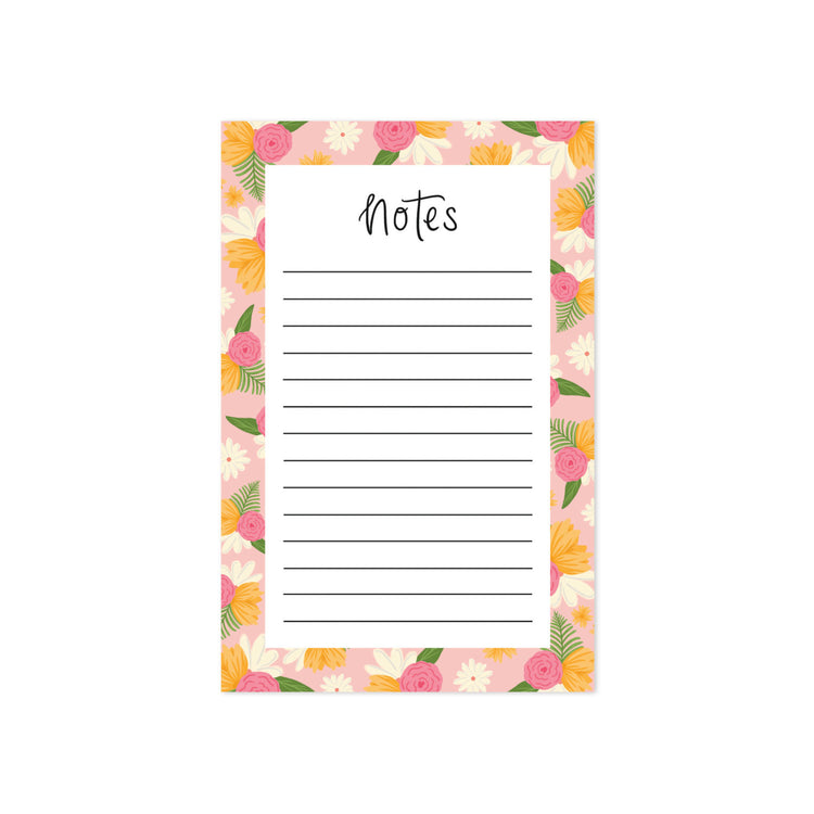 Floral Notepad - Bloomwolf Studio