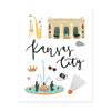 City Art Prints - Kansas City - Bloomwolf Studio Print About What to Do in Kansas City, Neutral Colors, Light Blue, City Landmarks + Historical Places + Notable Places