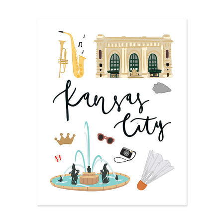 City Art Prints - Kansas City