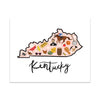 State Art Prints - Kentucky - Bloomwolf Studio