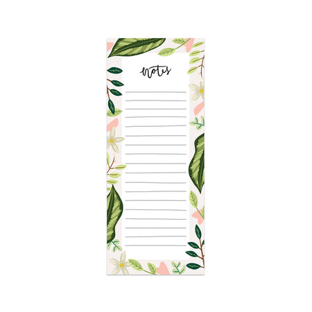 Leaves Notes Notepad - Bloomwolf Studio