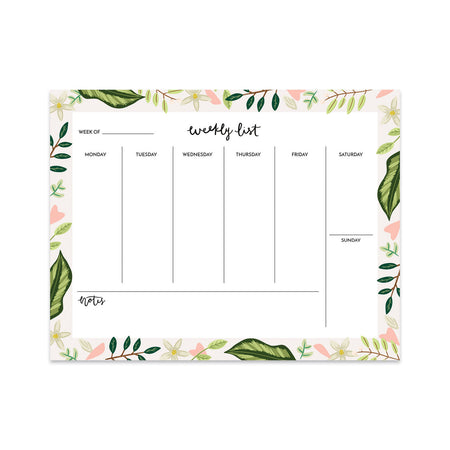 Leaves Weekly Planner - Bloomwolf Studio