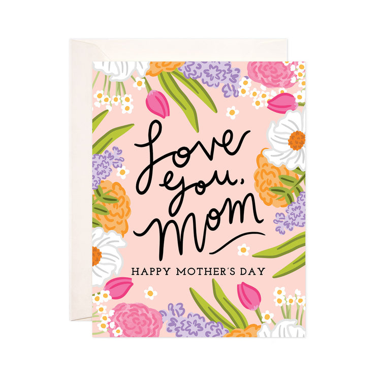 Love Mom Floral