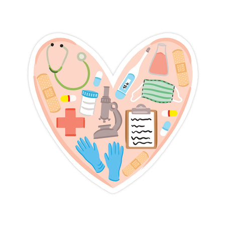 Medical Love Sticker