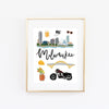 City Art Prints - Milwaukee - Bloomwolf Studio