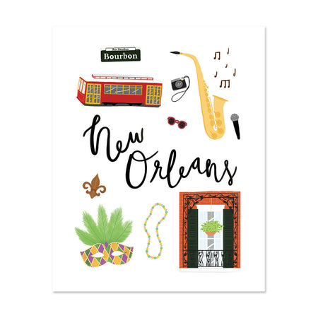 City Art Prints - New Orleans