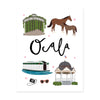 City Art Prints - Ocala