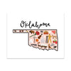 State Art Prints - Oklahoma
