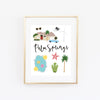 City Art Prints - Palm Springs - Bloomwolf Studio