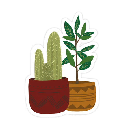 Potted Plants Stickers - Bloomwolf Studio