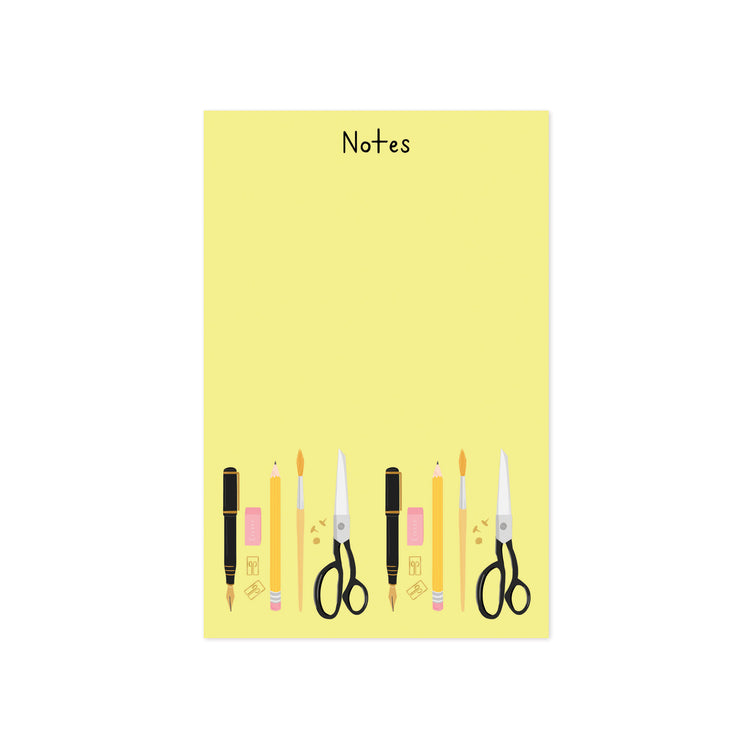 Stationery Notes Notepad - Bloomwolf Studio