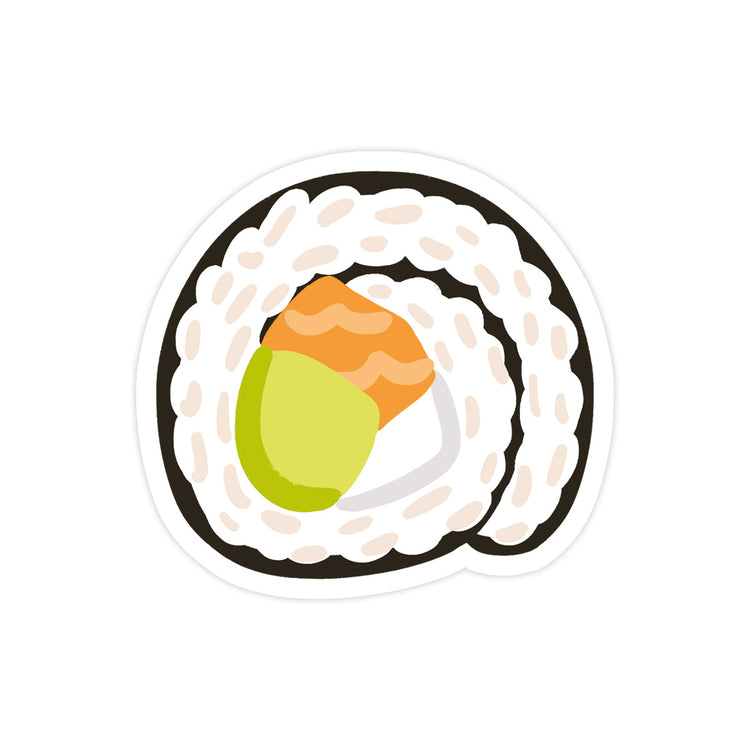 Sushi Roll Sticker