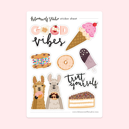 Sweet Treats Sticker Sheet