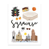 City Art Prints - Syracuse - Bloomwolf Studio
