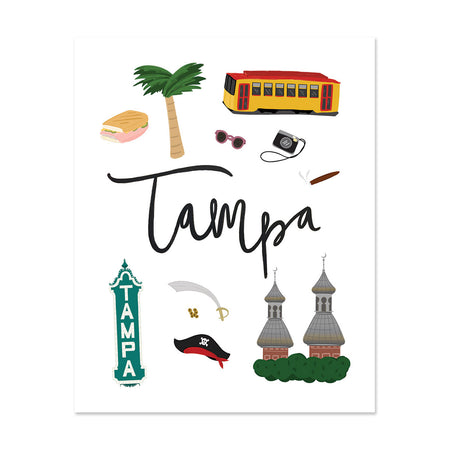 City Art Prints - Tampa