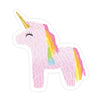 Unicorn Sticker - Bloomwolf Studio Sticker of a Pink Unicorn, Golden Horn