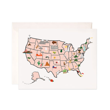 US Map - Bloomwolf Studio