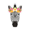 Pretty Zebra Sticker - Bloomwolf Studio
