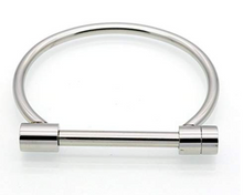 Load image into Gallery viewer, Sterling Silver Horseshoe Bracelet