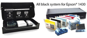 All Black Ink Cartridges for Epson® 1430 and 1400