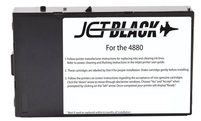 All Black Ink Cartridges for Epson® 4880