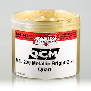 QCM MTL220 Metallic Bright Gold