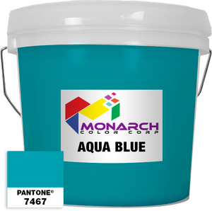 Monarch Vivid - Aqua Blue - Gallon